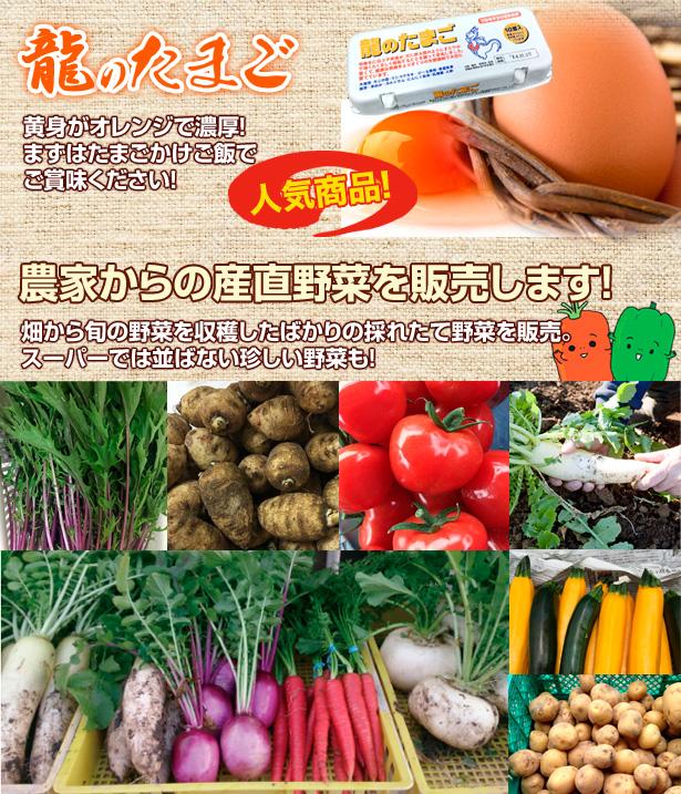 農家野菜の直売市場